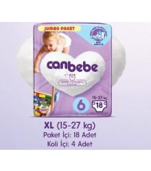 CANBEBE JUMBO EXTRA LARG 15-27 KG