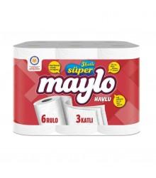 SUPER MAYLO HAVLU 6'LI